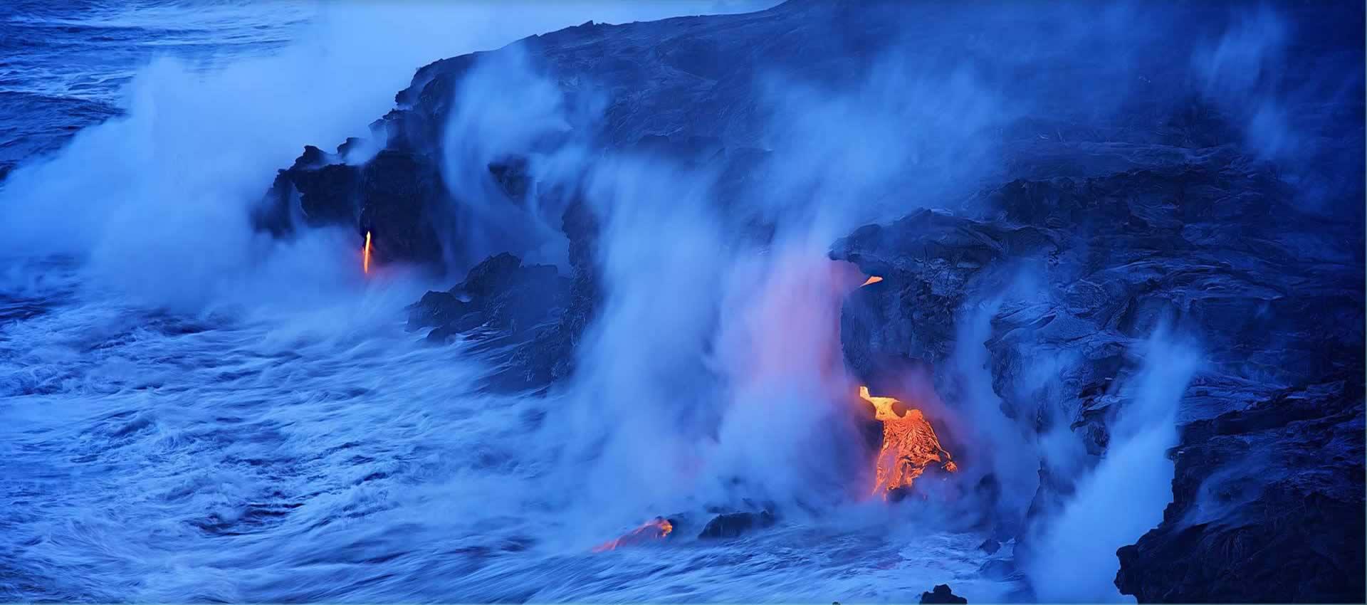 Hawaii-volcano-lava