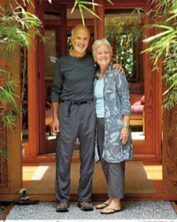 Volcano Rainforest Retreat Innkeepers Peter and Kathleen Golden