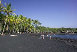 Ka'u Black Sand Beach