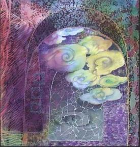 Phan Nguyen Barker silk painting