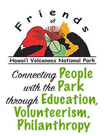 Friends of Hawaii Volcanoes National Park Logo