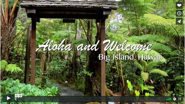 Aloha and welcome video